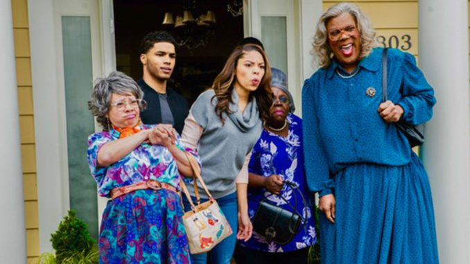Cast of A Madea Family Funeral.
