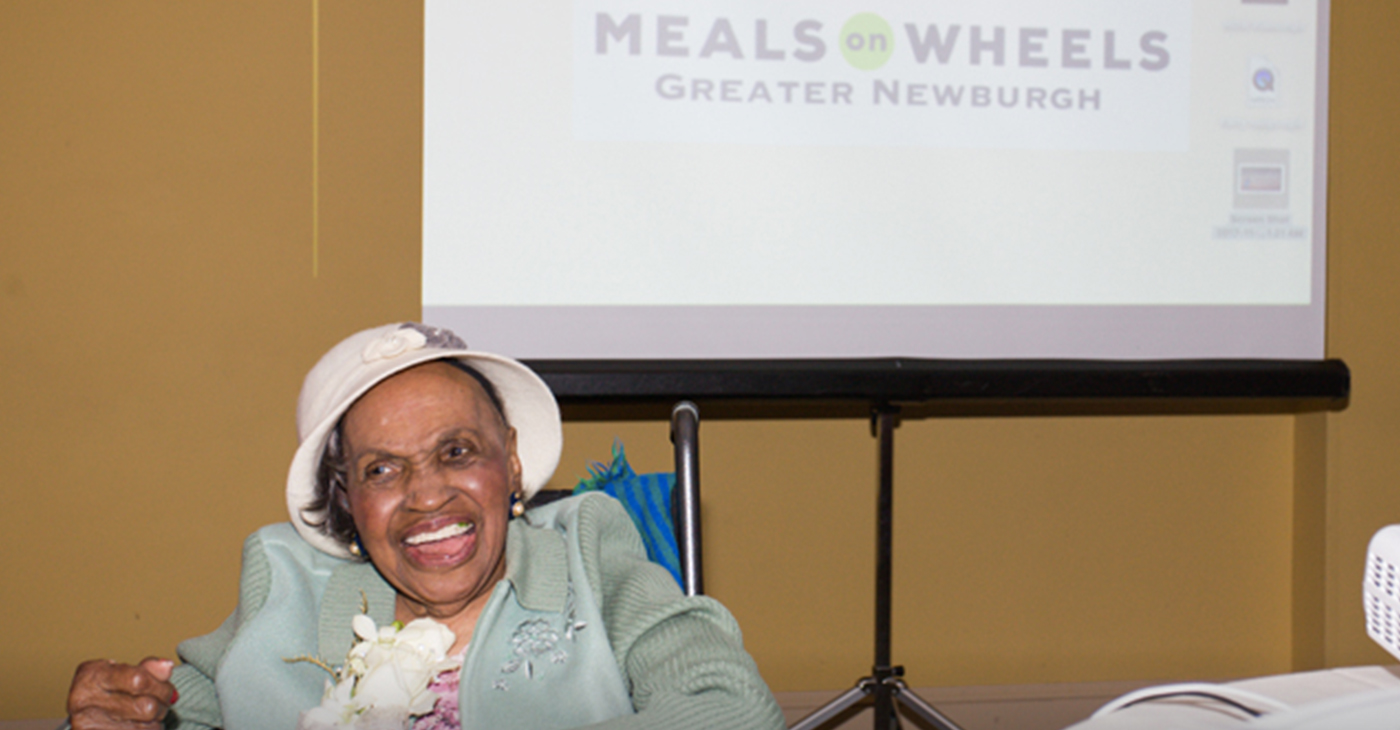 Meals on Wheels of Greater Newburgh founder, Frederica Warner died last Tuesday at the age of 101. (Hudson Valley Press File/Chuck Stewart, Jr.)