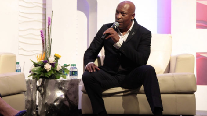 John Singleton was a featured speaker at the Rolling Out Innovation Digital Entertainment (RIDE) conference in 2017. (Photo credit: Steed Media Group)