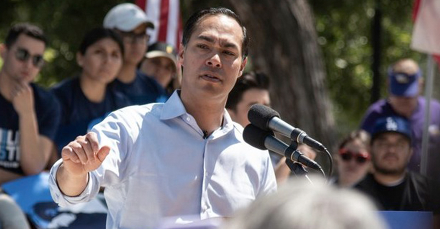 Presidential Candidate Julian Castro (Photo by: wavenewspapers.com)