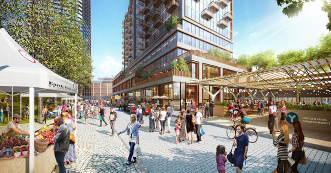 Rendering of Lincoln Yards