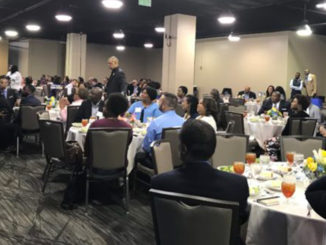 """Hundreds of professional and student journalists were in Birmingham Friday and Saturday for the National Association of Black Journalists (NABJ) Region III Conference, """"Code Switching: Reporting the Virtual Truth"""" at the Sheraton Hotel downtown. (Erica Wright Photos, The Birmingham Times)"""
