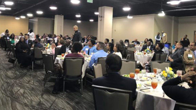 "Hundreds of professional and student journalists were in Birmingham Friday and Saturday for the National Association of Black Journalists (NABJ) Region III Conference, ""Code Switching: Reporting the Virtual Truth"" at the Sheraton Hotel downtown. (Erica Wright Photos, The Birmingham Times)"