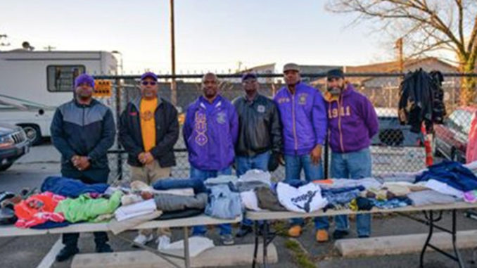 Psi Phi Chapter of Omega Psi Phi Fraternity, Inc (Photo by: wschronicle.com)