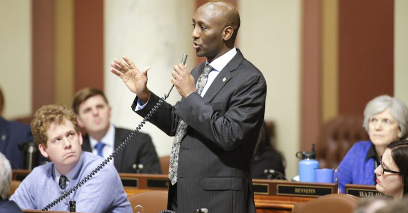 Rep. Mohamud Noor (Photo by: Stephenetta (isis) Harmon | MSR News Online)