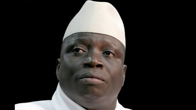 Yahya Jammeh (Photo by: Global Information Network)