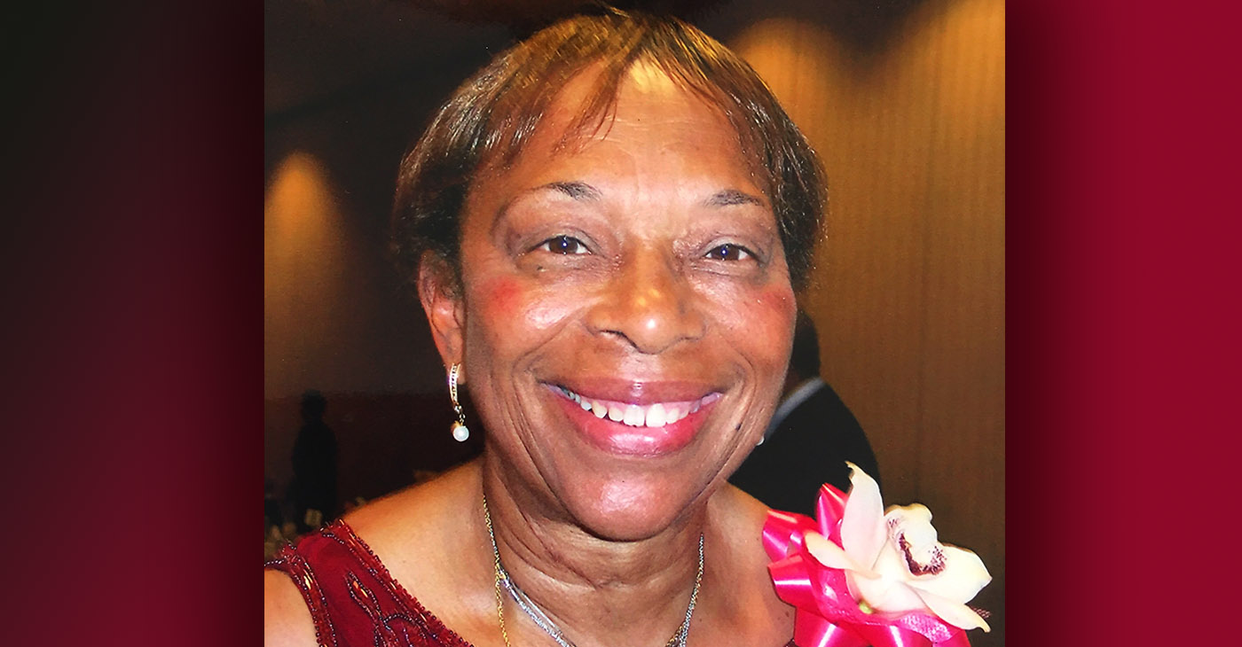 Dr. Mrs. Gloria Irene Williams Norman Clark (Photo courtesy of Victoria Brown, daughter of Dr. Clark)