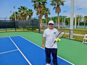 City Park Pepsi Tennis Center Corey Clarke Teaching Pro by Dwight Brown