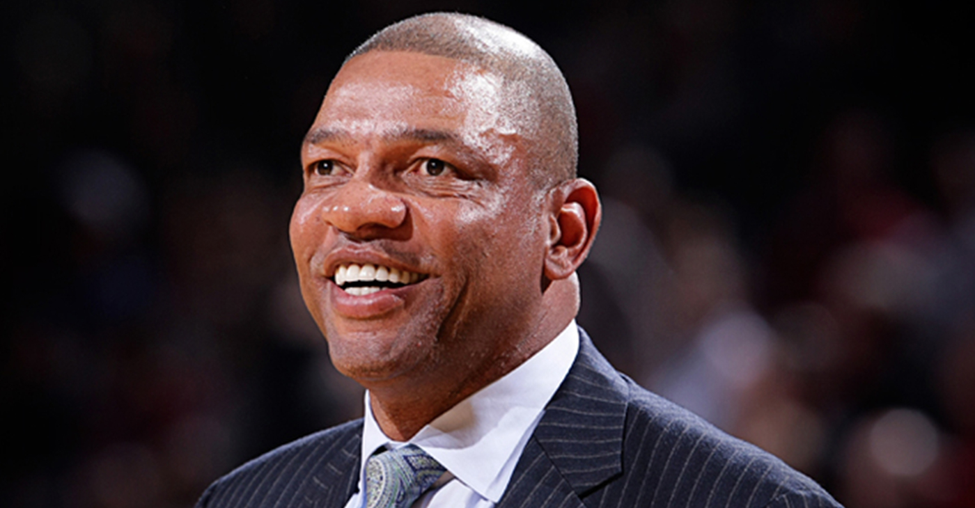 Los Angeles Head Coach Doc Rivers (Photo by: NBA.com)