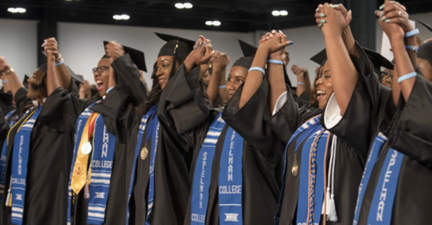Graduates of the Spelman College Class of 2017 (Photo Credit: Spelman College)