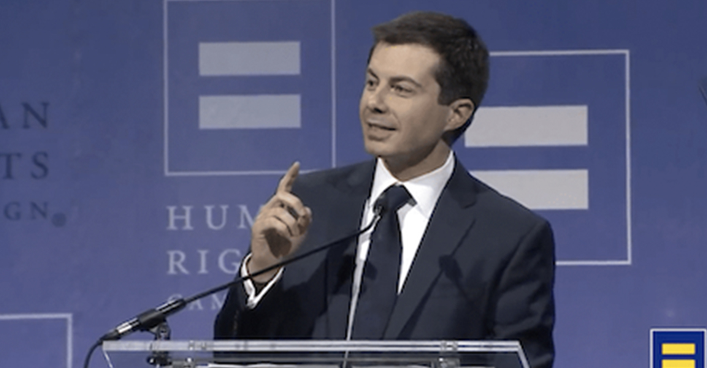Pete Buttigieg (Courtesy of DiversityInc)