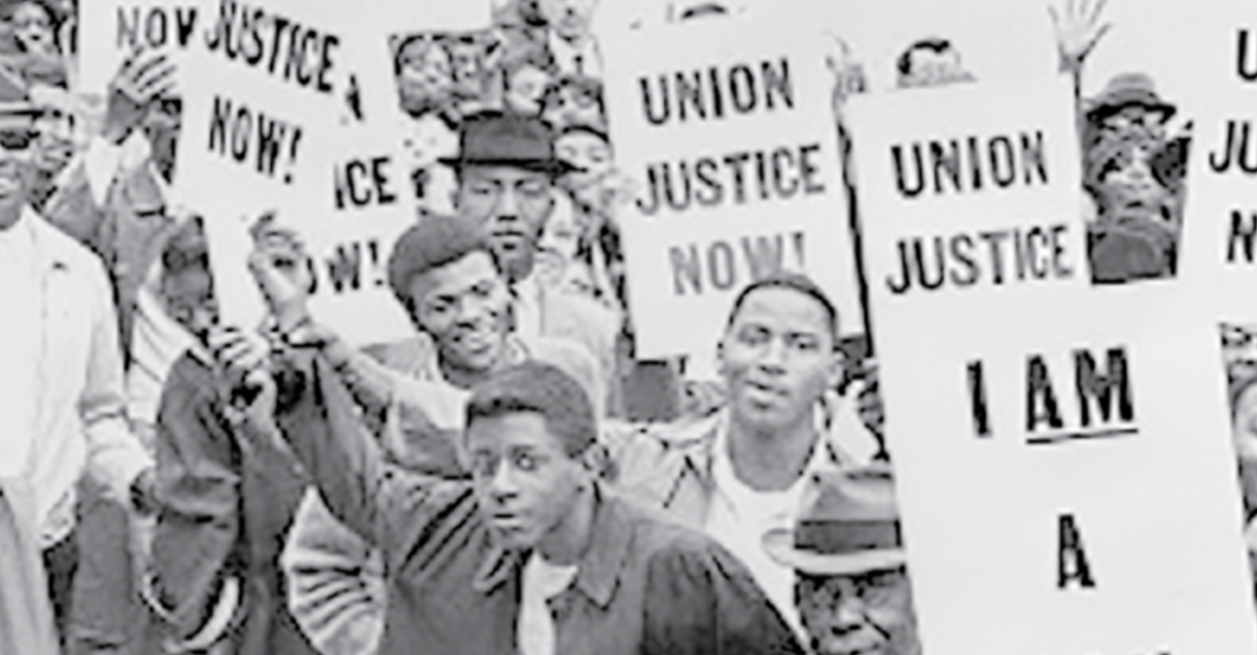 The 1968 Memphis Sanitation workers strike changed the course of history. (Courtesy of AFSCME)
