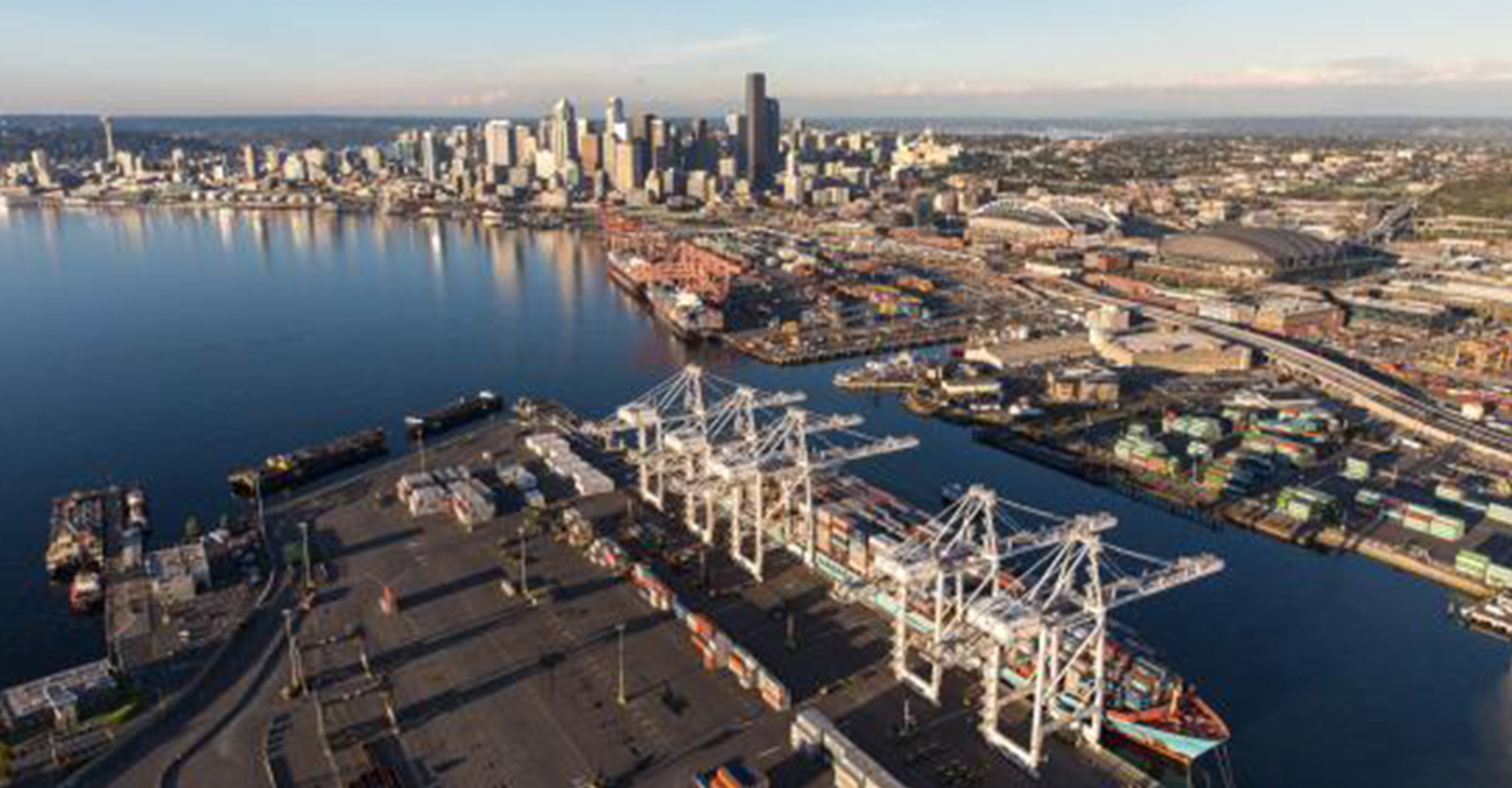 The Port of Seattle (Photo by: portseattle.org)