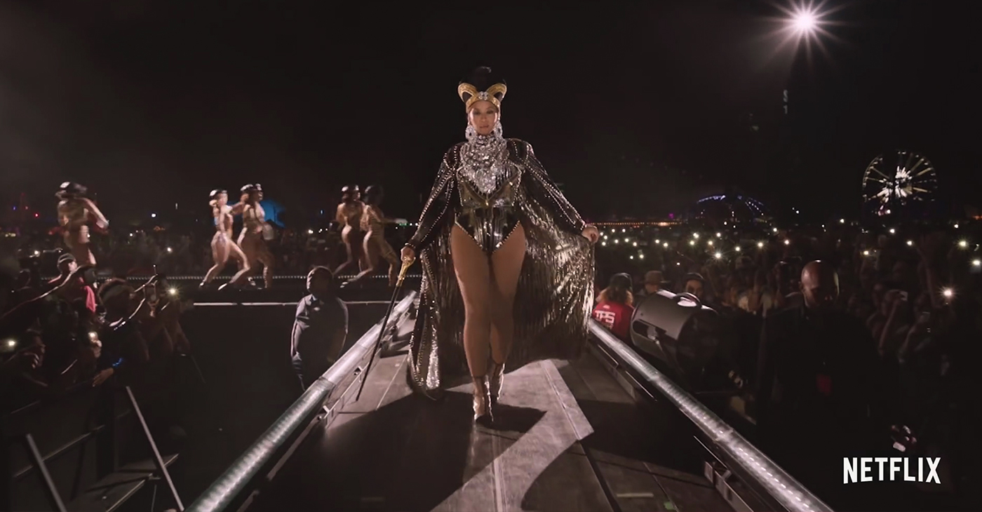 """When the trailer for 'Homecoming,' her Netflix documentary dropped, the first thing I heard was Dr. Maya Angelou saying: """"What I really want to do is be a representative of my race."""" As if Queen Bey didn't already have my heart. (Screen Capture from 'Homecoming: A Film By Beyoncé,' Netflix/YouTube)"""