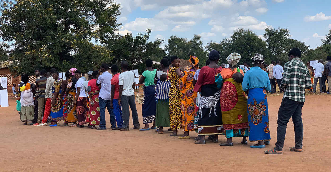 """""""We are impressed that multi-party dispensation has been enhanced in Africa and people have been accorded a chance to express their democratic rights to vote,"""" said National Newspaper Publishers Association President and CEO Dr. Benjamin F. Chavis, Jr. (Photo: Tish K. Bazil)"""