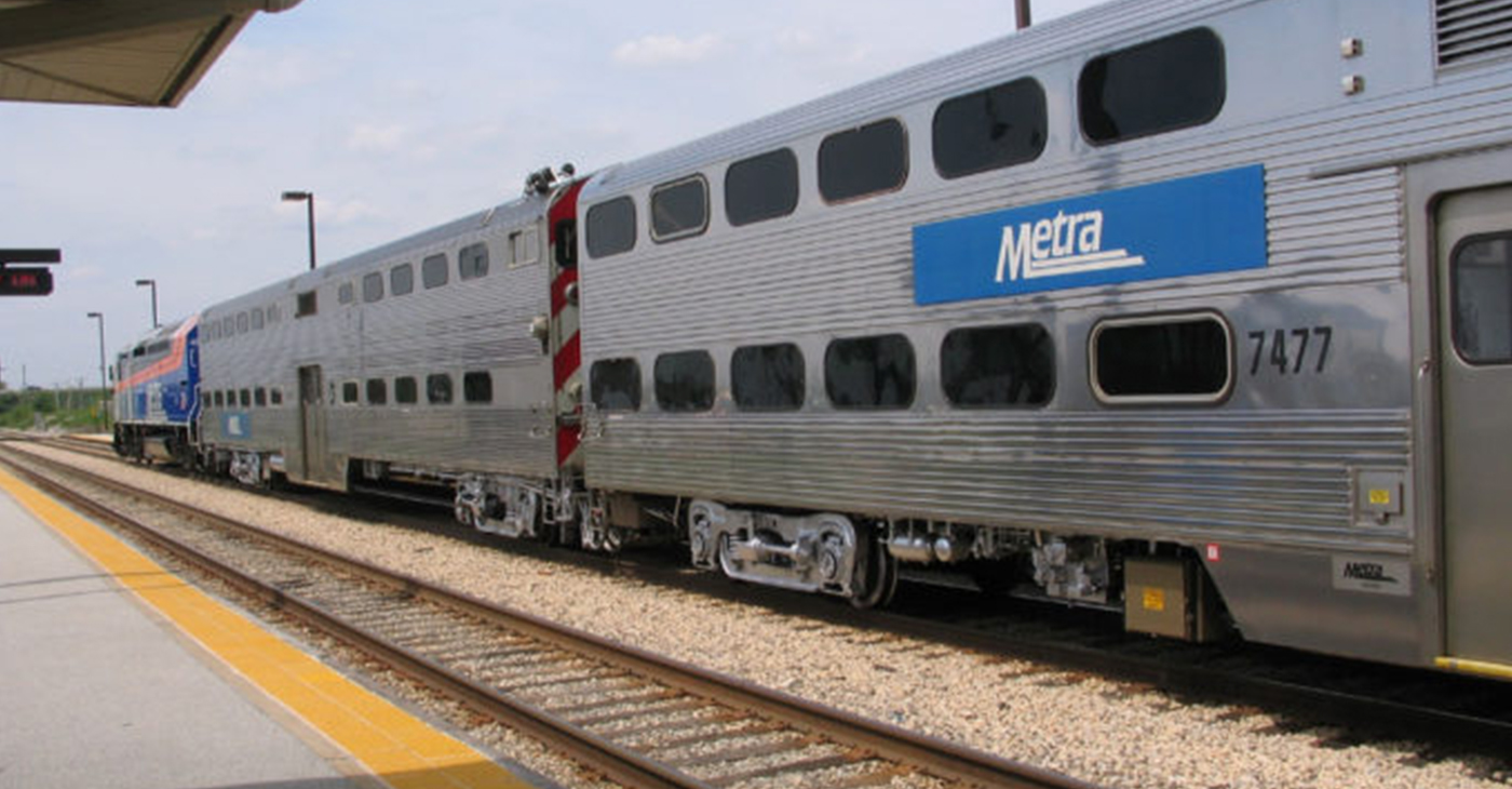 Metra Train (Photo by: chicagocrusader.com)