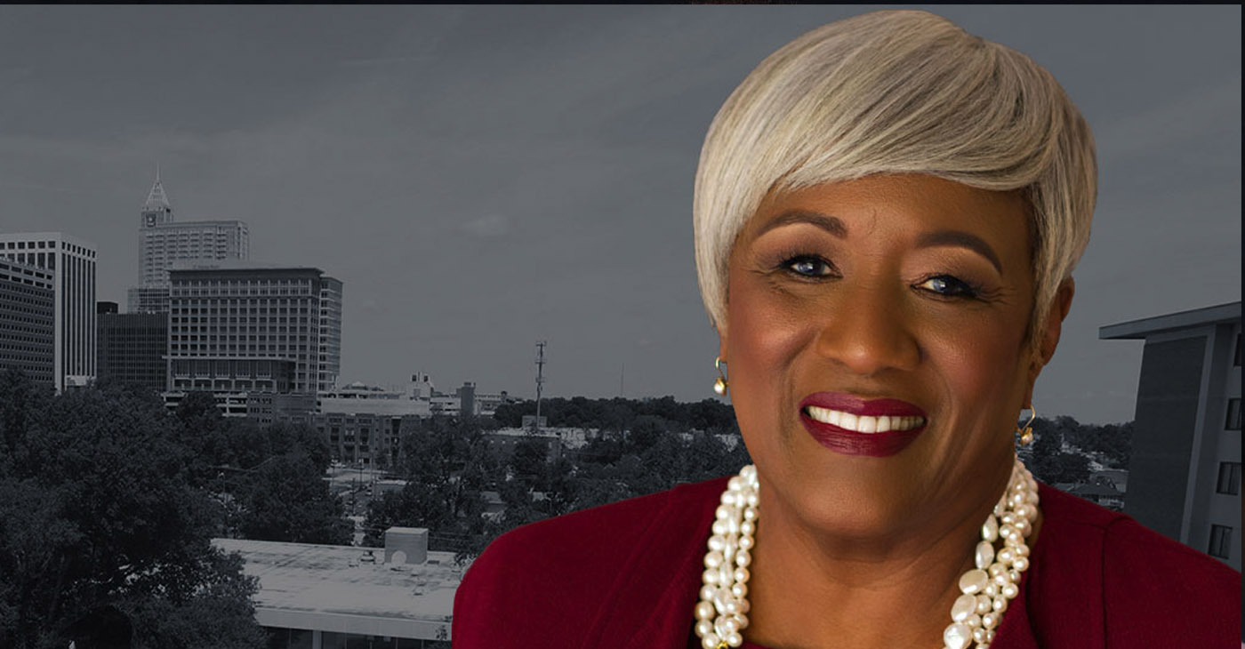 "Dr. Paulette R. Dillard said she's thankful and committed to intentional leadership of Shaw University as ""we continue to grow as an institutional leader in the Raleigh community and globally abroad."" (Photo courtesy Shaw University)"