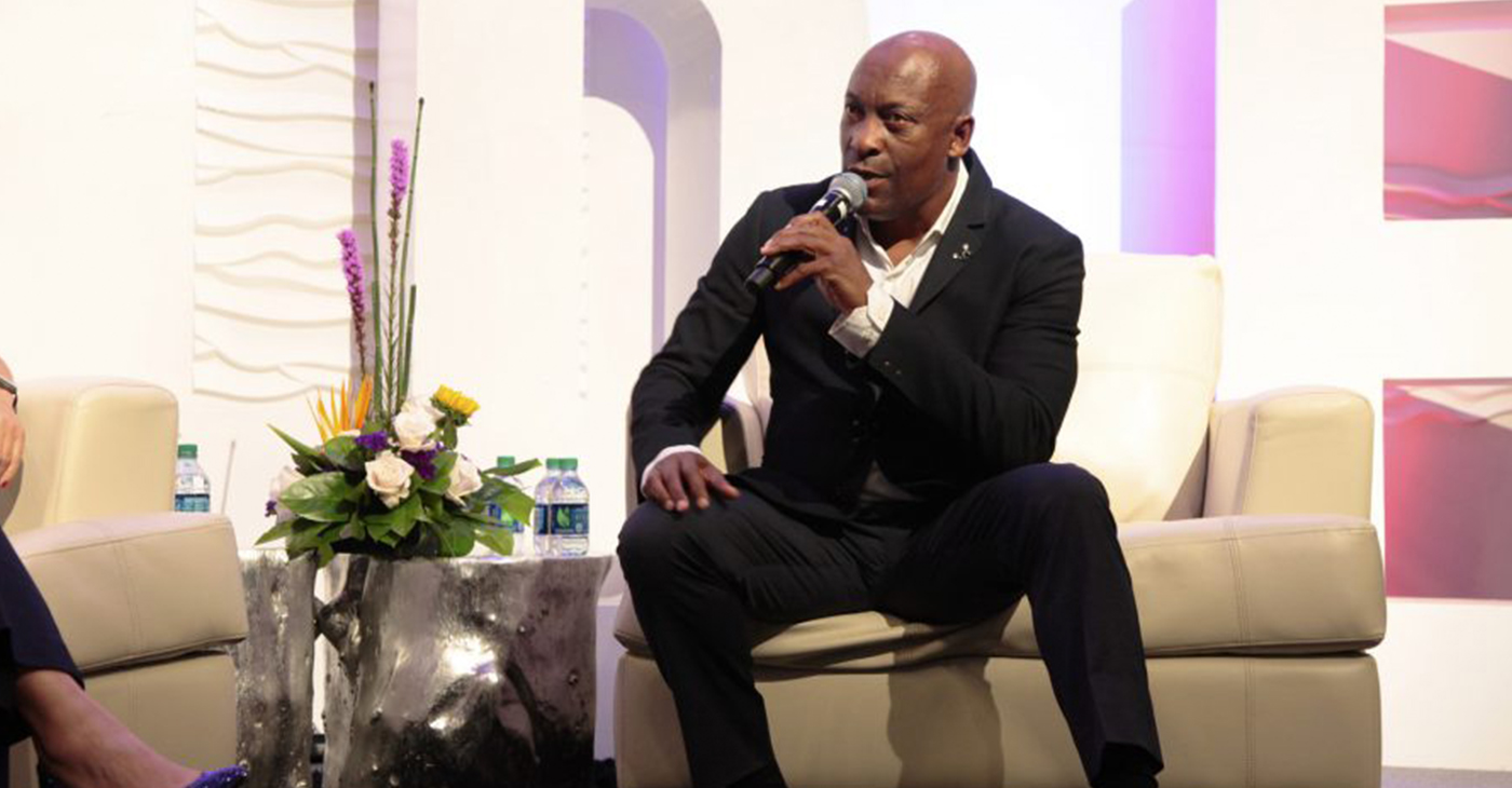 Director John Singleton. (Photo by: Steed Media)