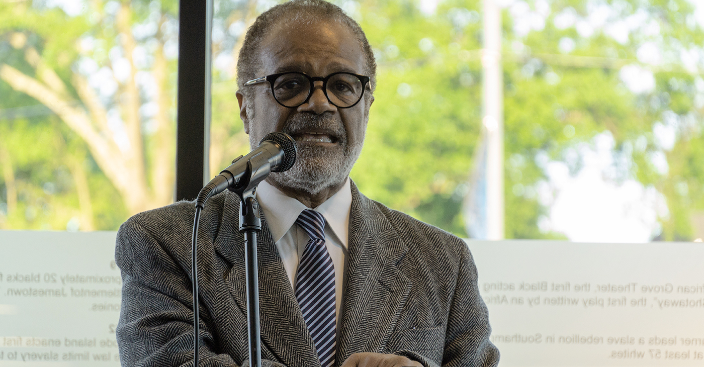 Actor Ted Lange praised the 40-year legacy of Blues City Cultural Center (BCCC) and reminded the crowd of just how many other such entities were no longer in existence.