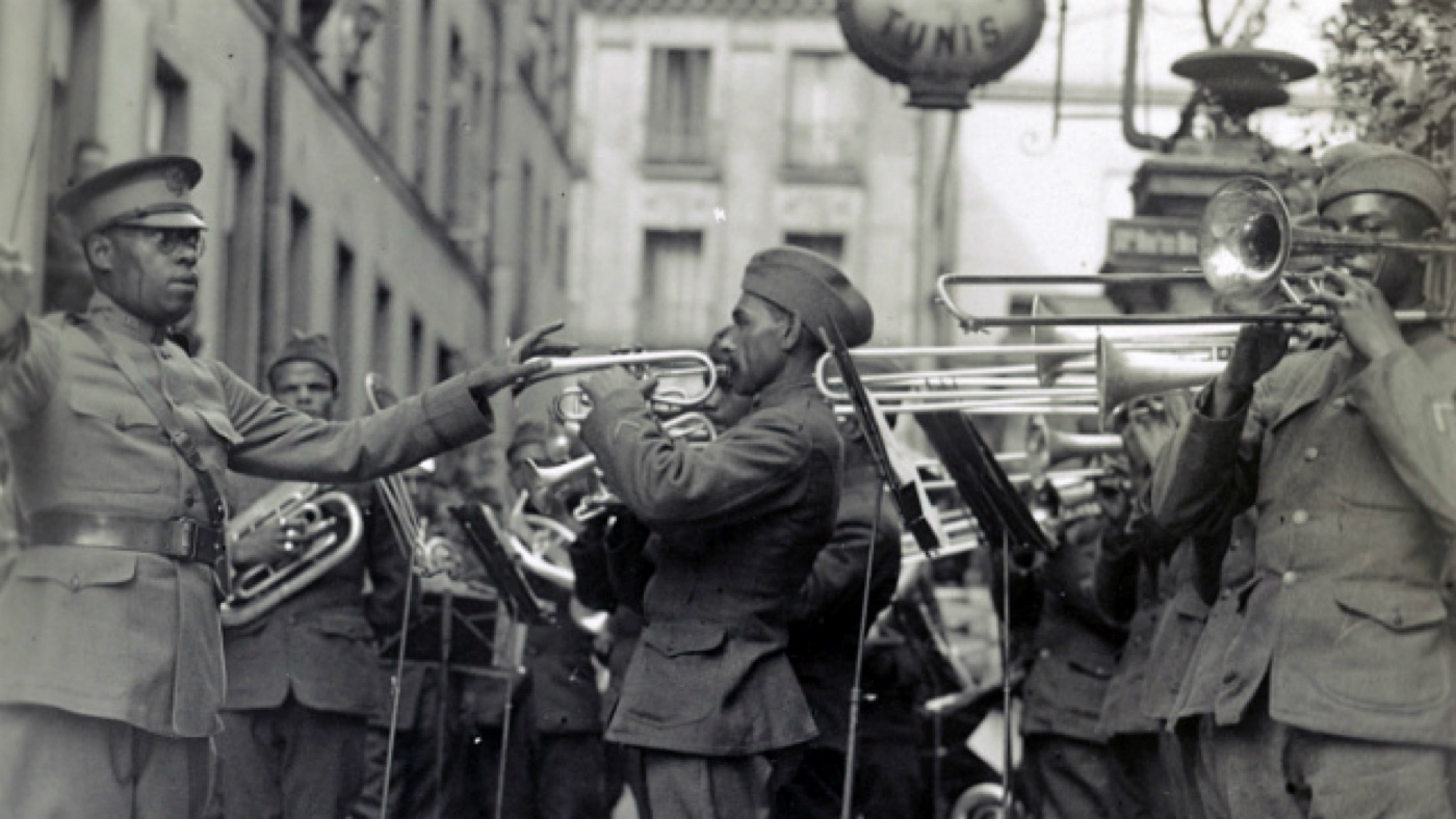 WWI 369 Infantry Regimental Band (Photo: Courtesy)