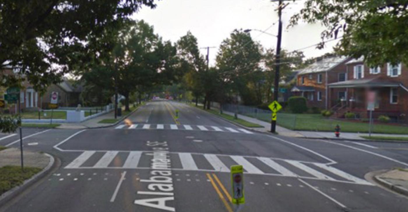 Bike lanes in southeast D.C. (Courtesy photo)