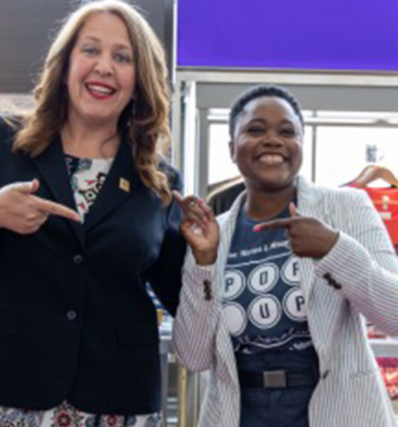 Kristi Whitfield and Rahama Wright (Photo by: James Partlow IV | DSLBD)
