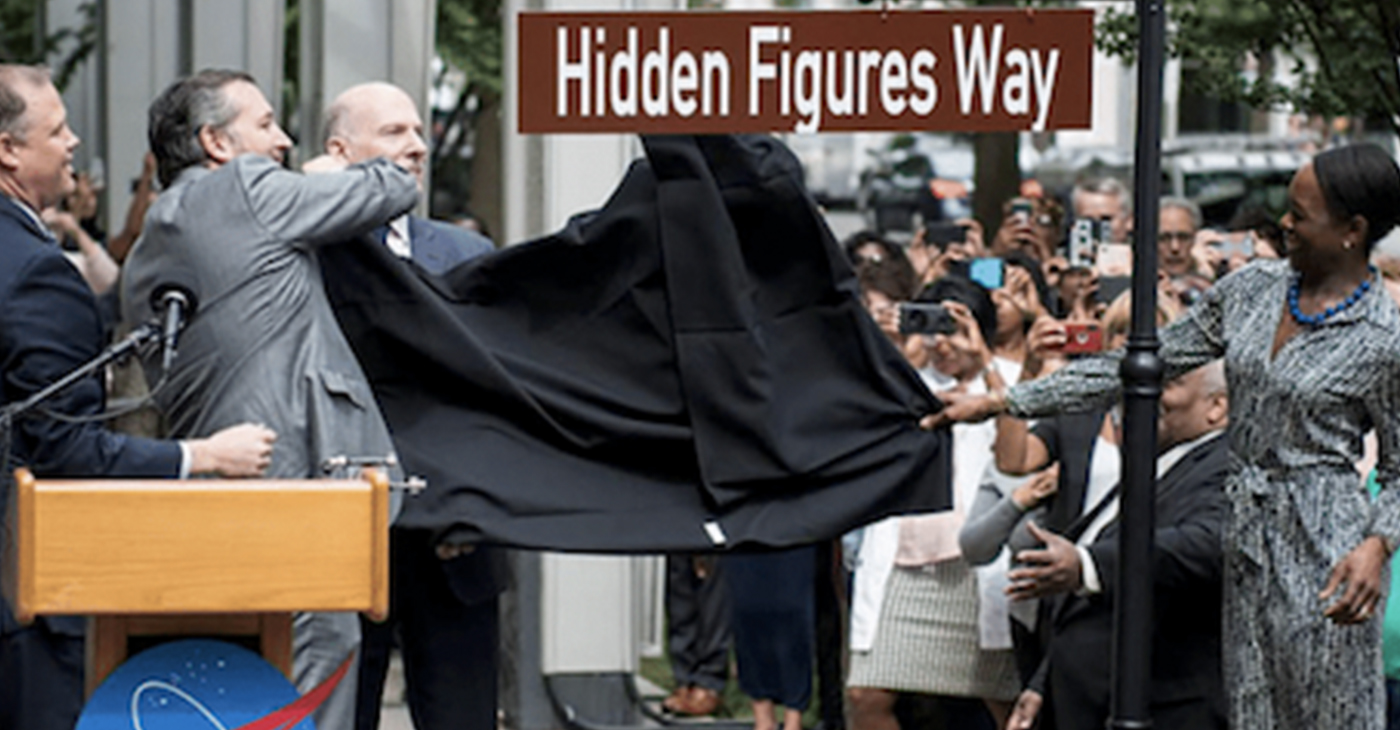 Hidden Figures Way (Courtesy of DiversityInc)