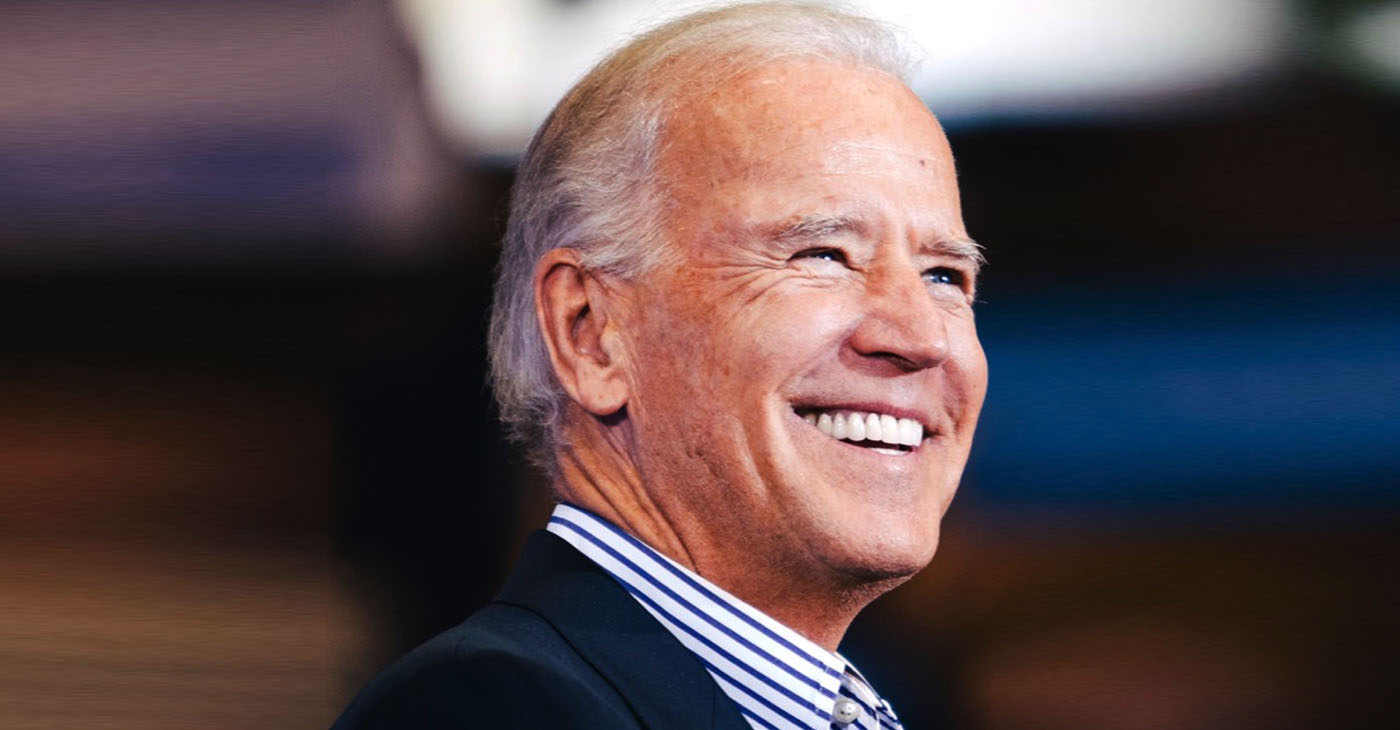 The length of Biden's legislative career is destined to become an issue in a diverse field of candidates entering a new era where progressive politics is looked on as being advantageous. (Photo: joebiden.com)