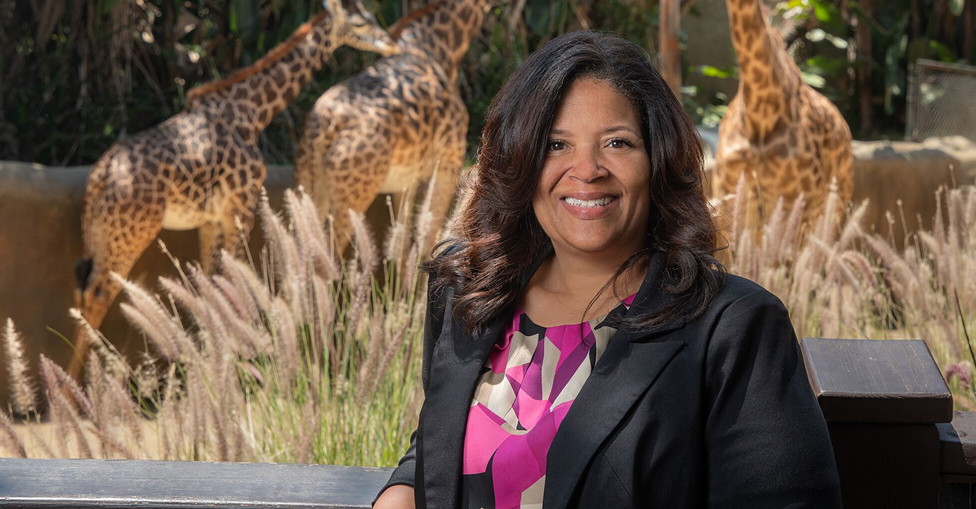 Verret Now Serves as the First African American Female Zoo Director of an Association of Zoos & Aquariums (AZA) Accredited Institution (Courtesy photo)