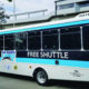 he San Leandro LINKS, a free shuttle between the Downtown San Leandro BART station and West San Leandro.