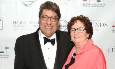 NASHVILLE, TENNESSEE - JUNE 27: Chancellor of Vanderbilt University Nicholas S. Zeppos and Lydia Howarth attend The Celebration of Legends Gala 2019 at Music City Center on June 27, 2019 in Nashville, Tennessee. (Photo by Jason Kempin/Getty Images for the National Museum of African American Music)