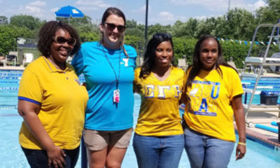 YMCA and Sigma Gamma Rho Sorority (Photo by: Pat Tucker Wilson)
