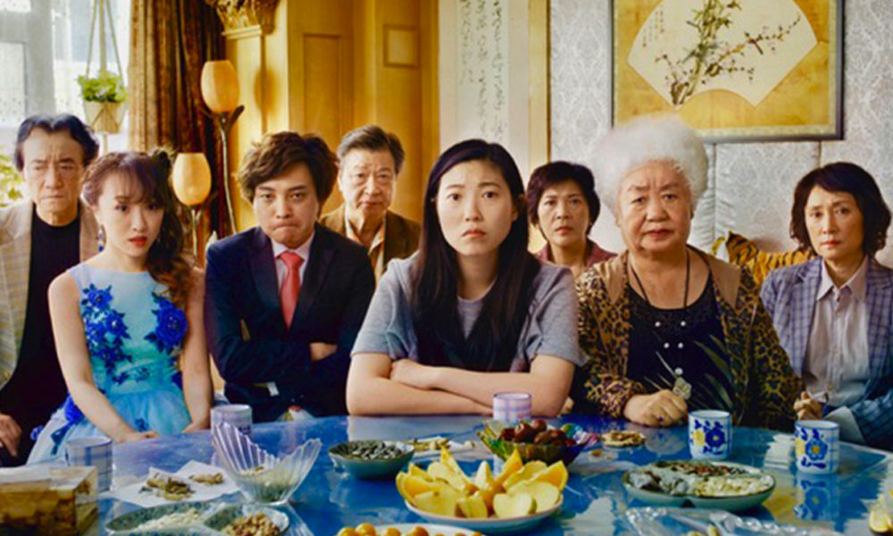 The cast of The Farewell