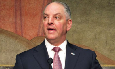 Gov. John Bel Edward (Photo by: defendernetwork.com)